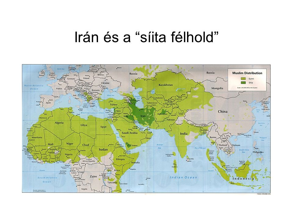 Irán és a síita félhold