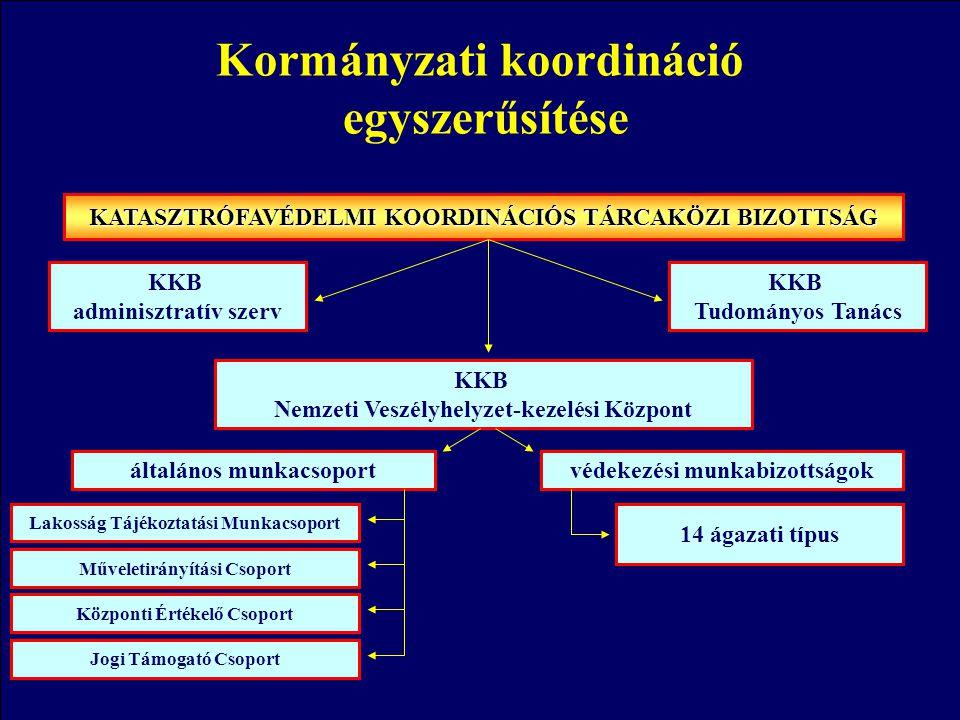 Kormányzati koordináció egyszerűsítése