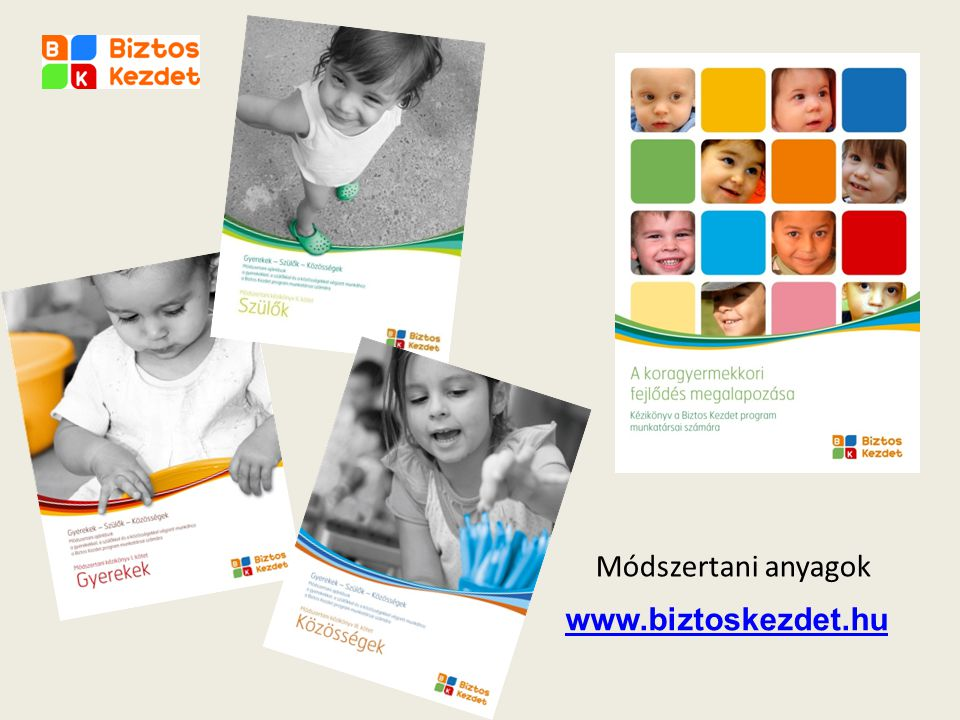 Módszertani anyagok www.biztoskezdet.hu