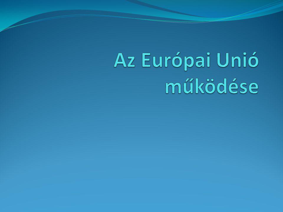 Az Európai Unió működése