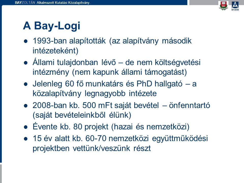 A Bay-Logi 1993-ban alapították (az alapítvány második intézeteként)
