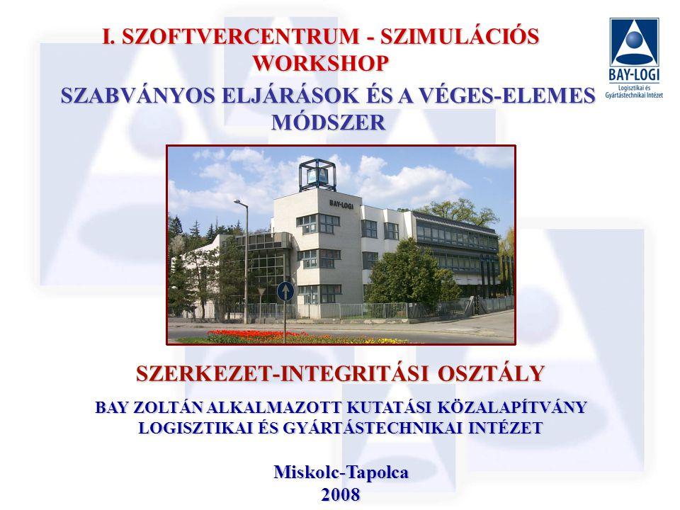 SZERKEZET-INTEGRITÁSI OSZTÁLY