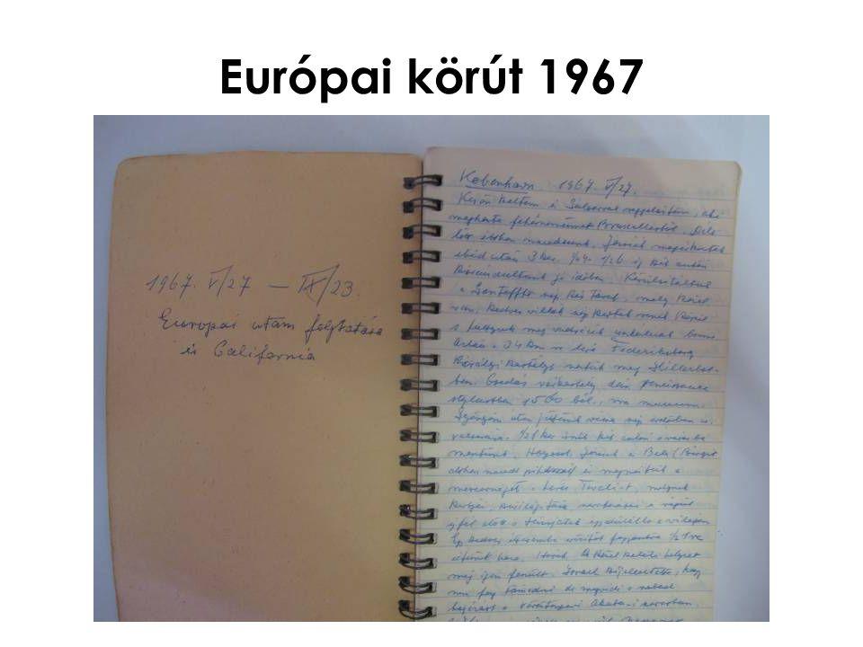 Európai körút 1967