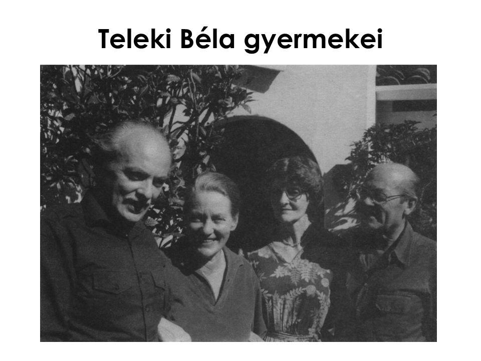 Teleki Béla gyermekei