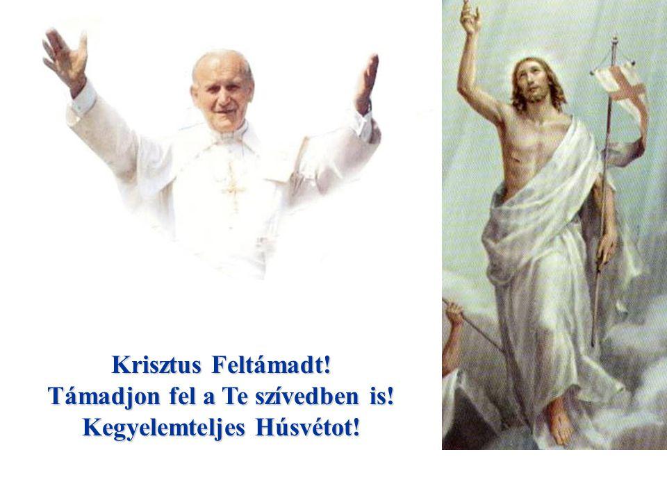 Támadjon fel a Te szívedben is! Kegyelemteljes Húsvétot!
