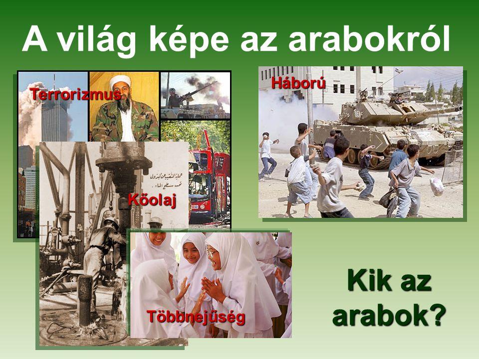 A világ képe az arabokról