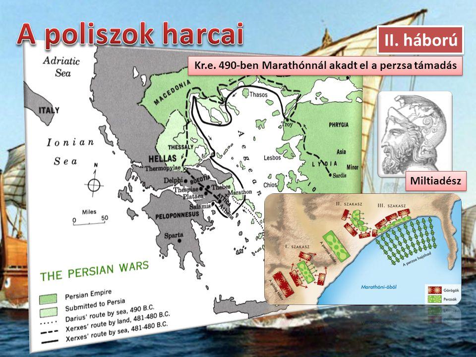 A poliszok harcai II. háború