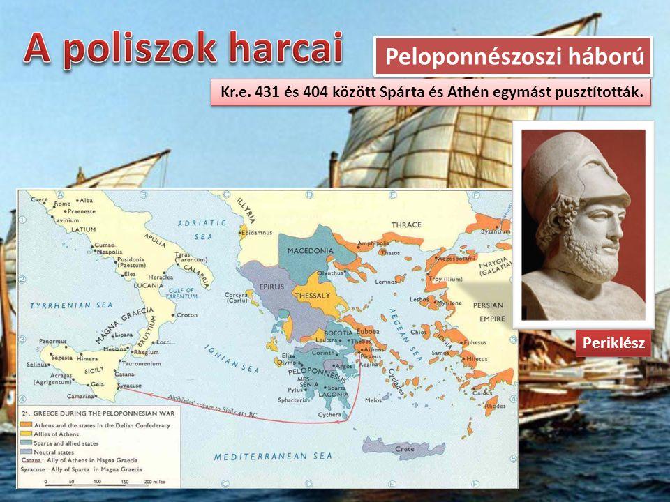 A poliszok harcai Peloponnészoszi háború