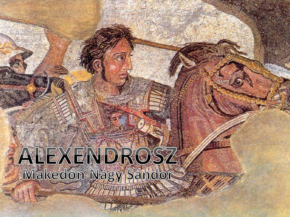 ALEXENDROSZ Makedón Nagy Sándor