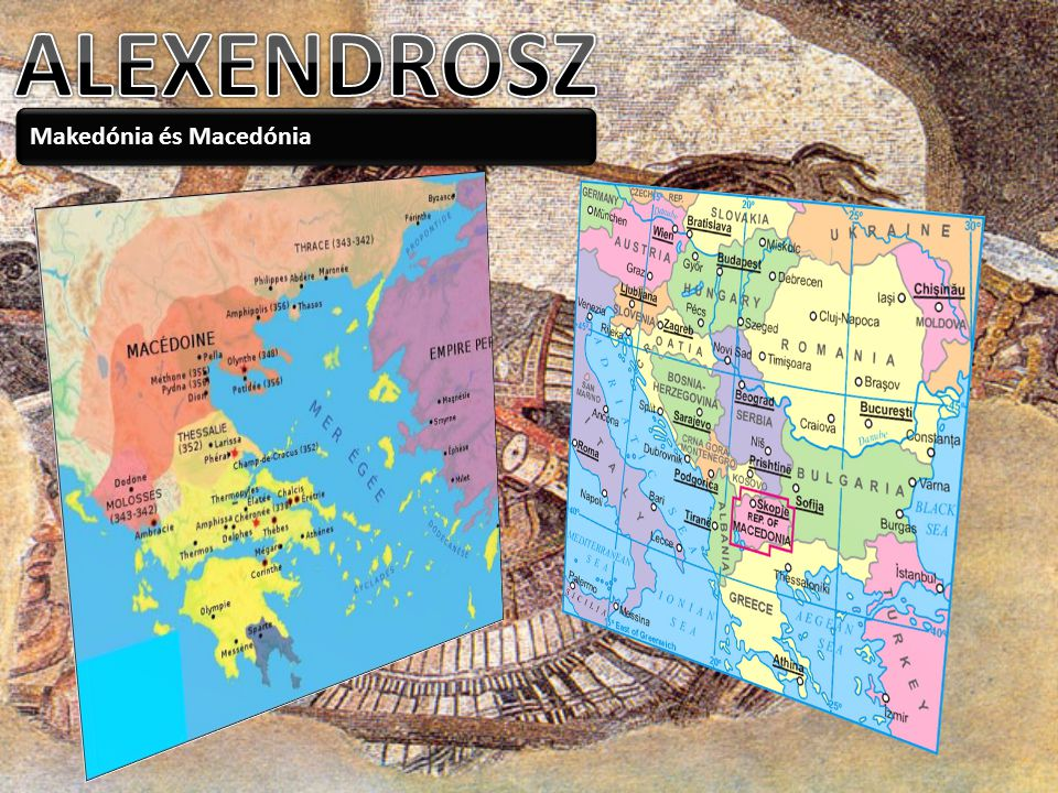 ALEXENDROSZ Makedónia és Macedónia