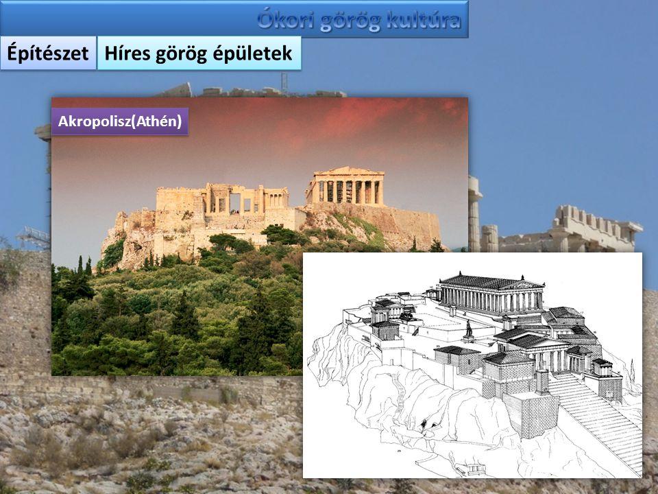 Ókori görög kultúra Építészet Híres görög épületek Akropolisz(Athén)
