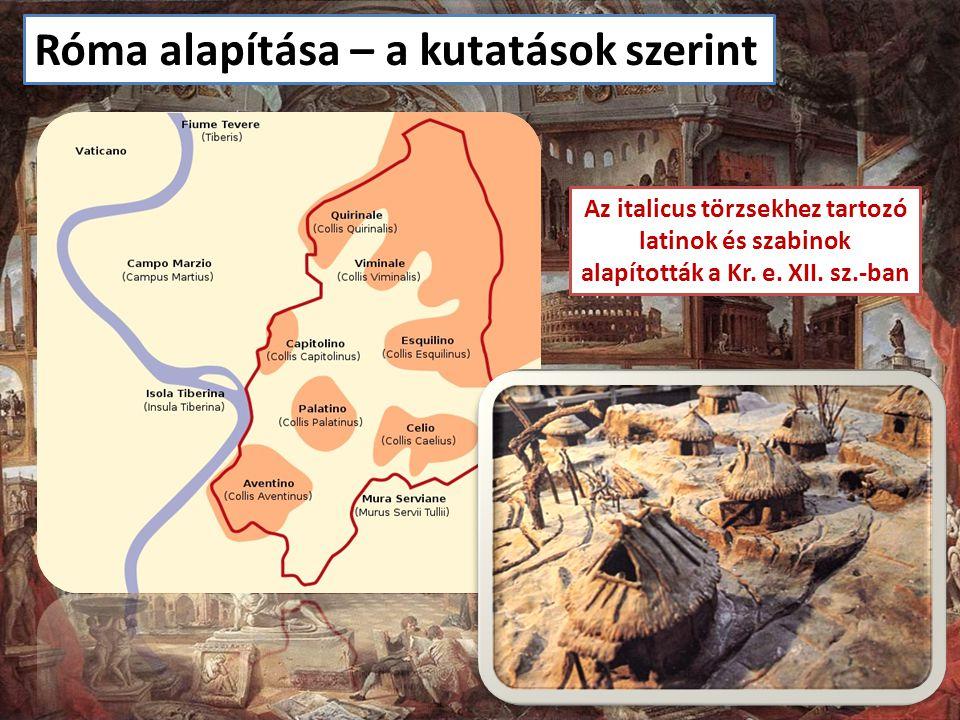 Az italicus törzsekhez tartozó alapították a Kr. e. XII. sz.-ban