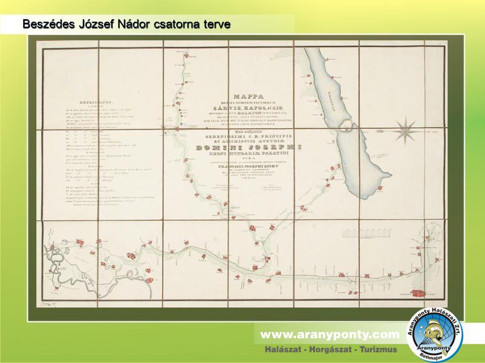 Beszédes József Nádor csatorna terve