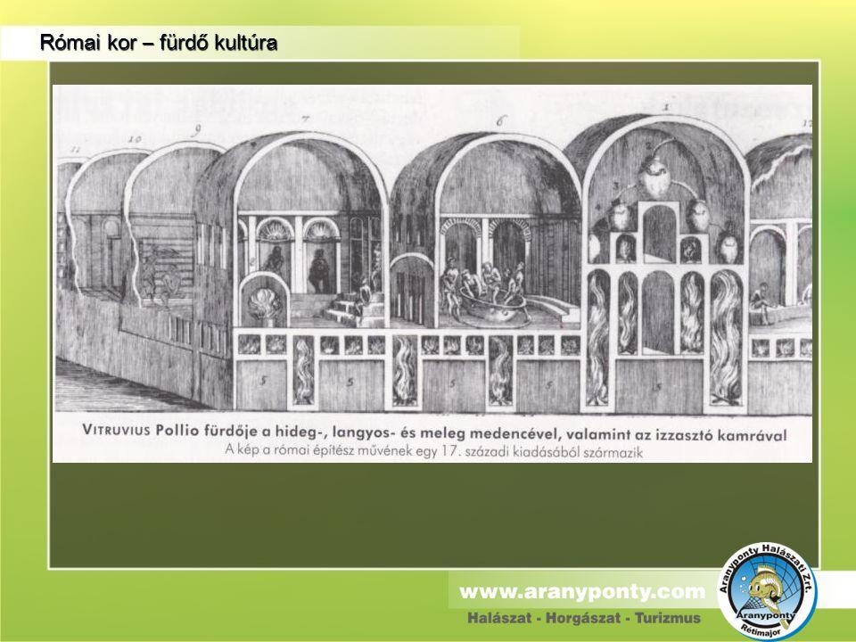 Római kor – fürdő kultúra