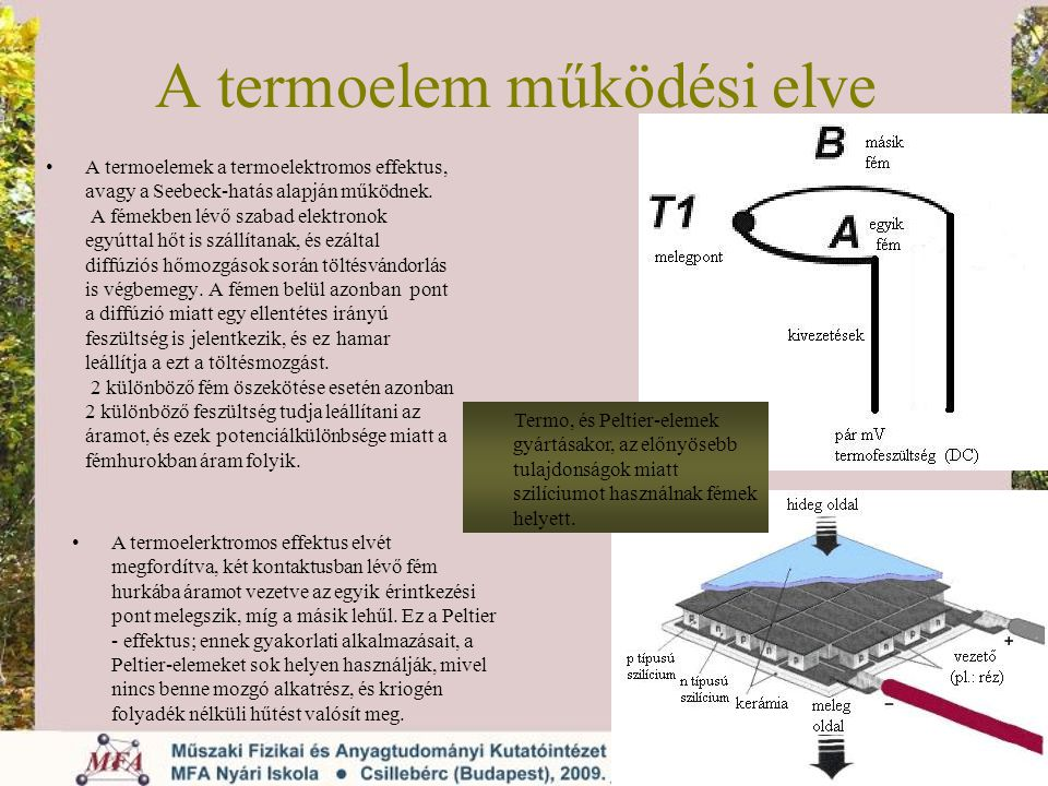 A termoelem működési elve