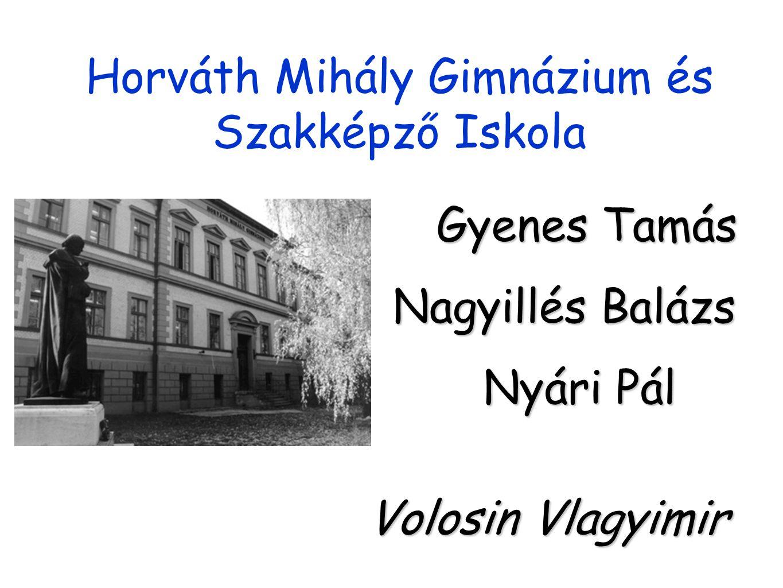 Horváth Mihály Gimnázium és Szakképző Iskola