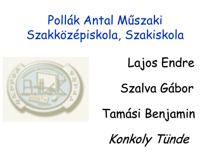 Pollák Antal Műszaki Szakközépiskola, Szakiskola