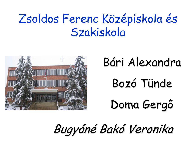 Zsoldos Ferenc Középiskola és Szakiskola