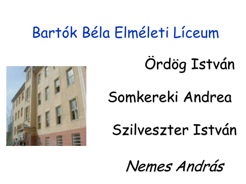 Bartók Béla Elméleti Líceum