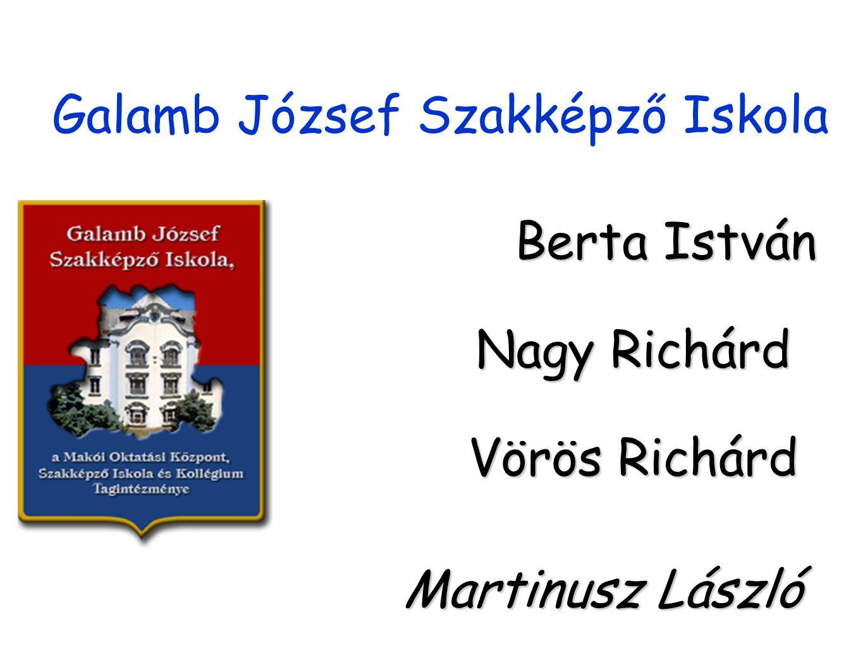 Galamb József Szakképző Iskola