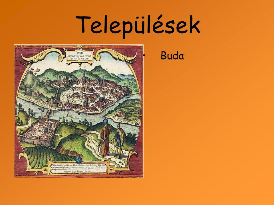 Települések Buda