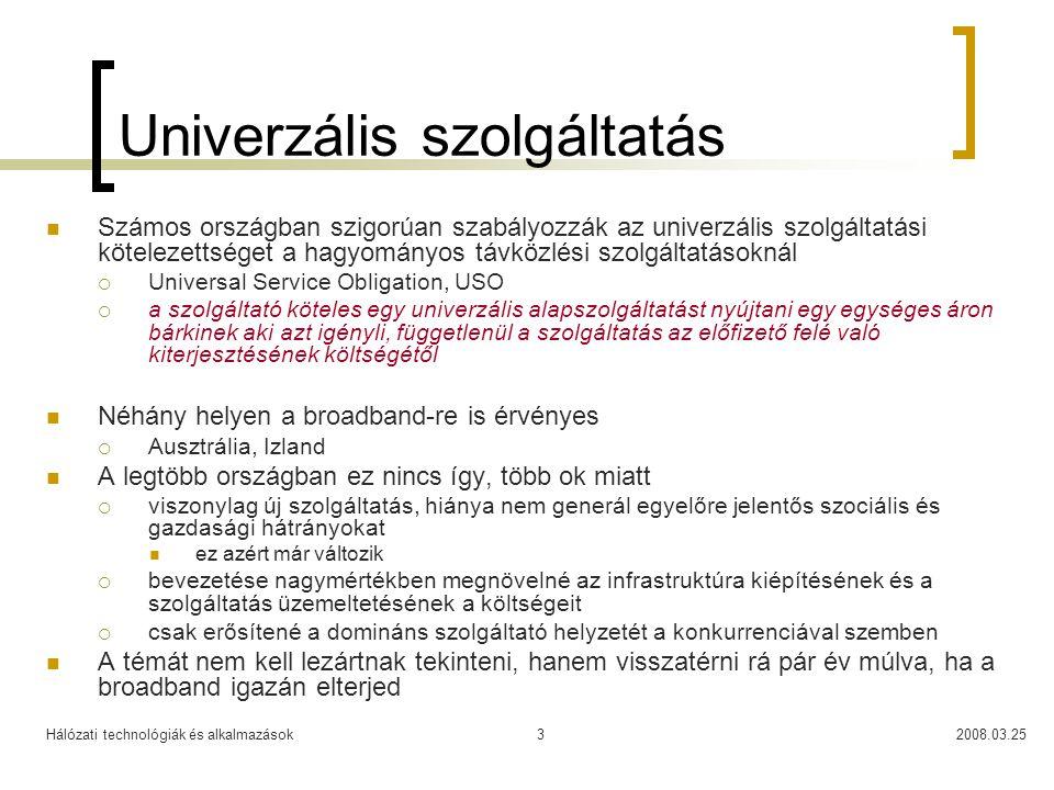 Univerzális szolgáltatás