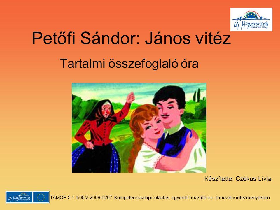 Petőfi Sándor: János vitéz