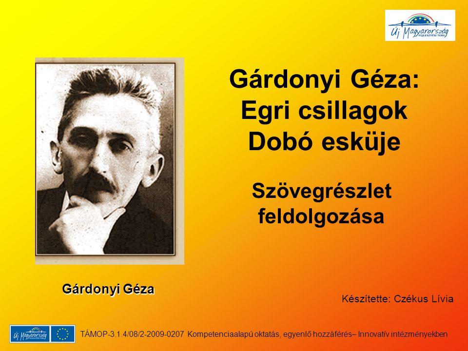 Gárdonyi Géza: Egri csillagok Dobó esküje