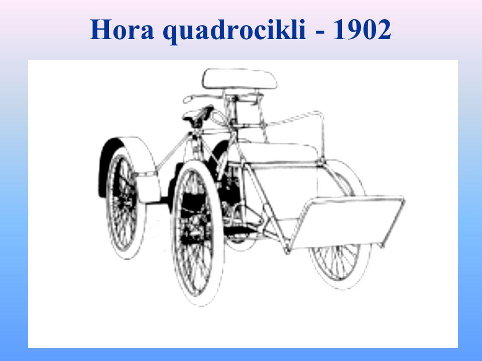 Hora quadrocikli - 1902