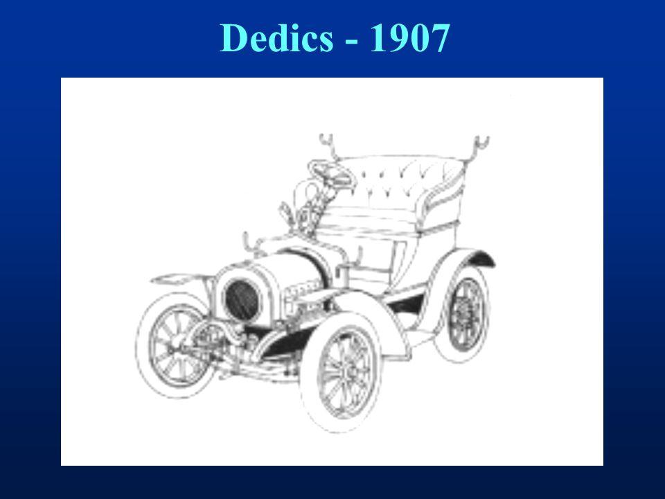 Dedics - 1907