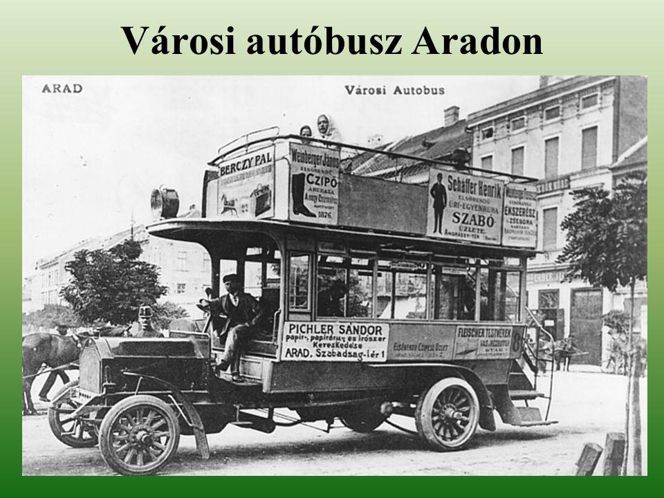 Városi autóbusz Aradon