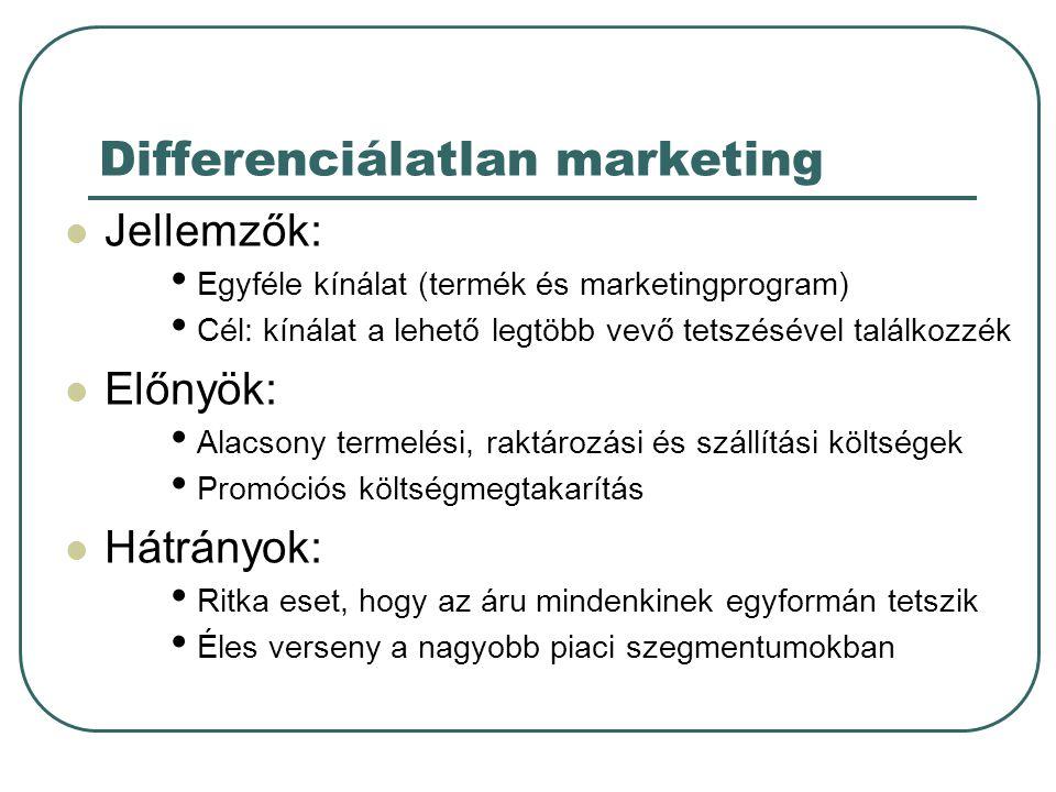 Differenciálatlan marketing