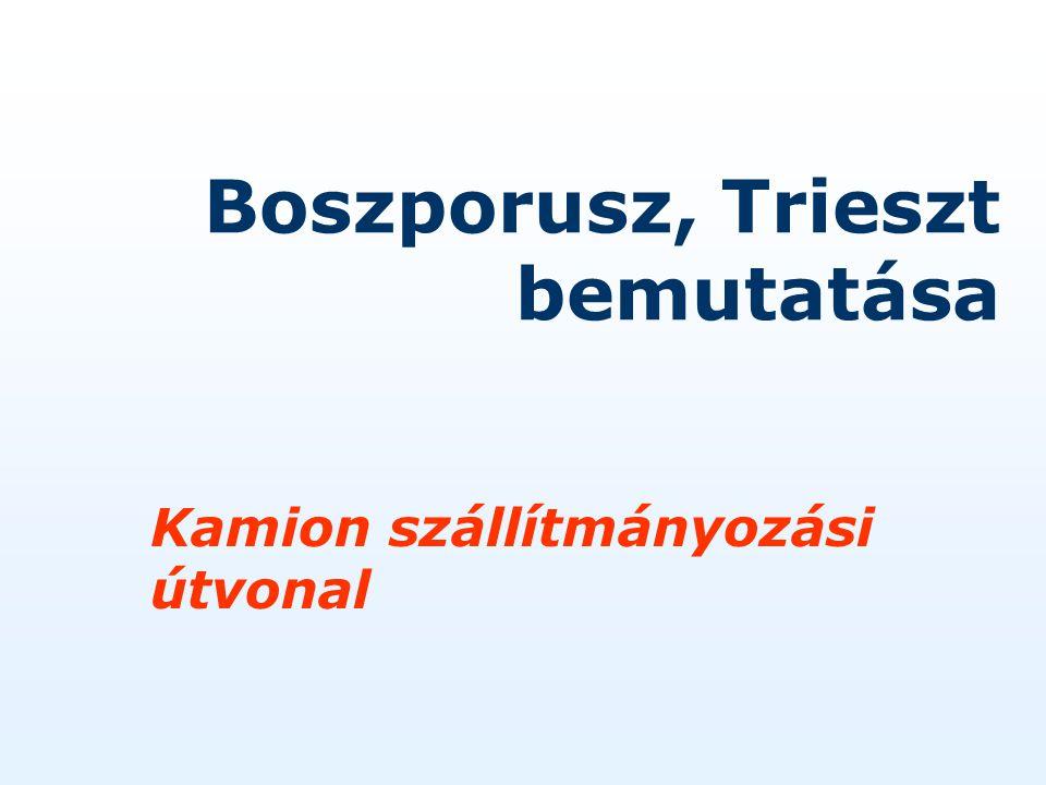 Boszporusz, Trieszt bemutatása