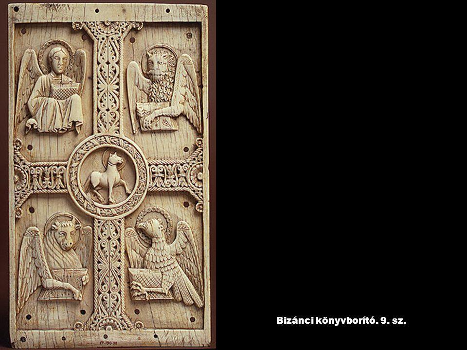 Bizánci könyvborító. 9. sz.