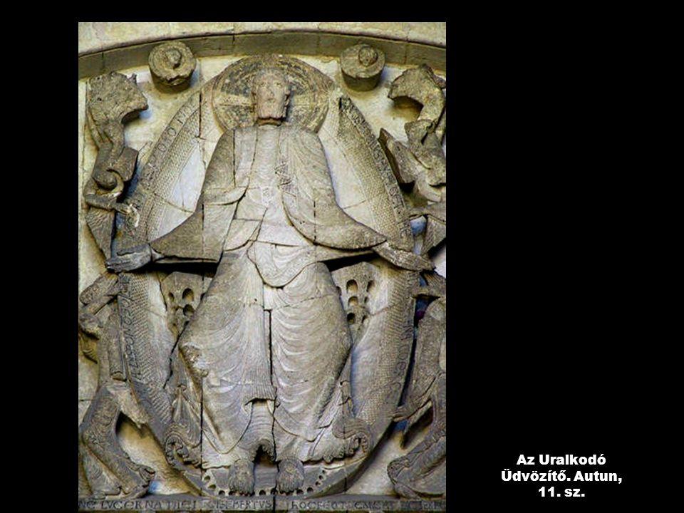 Az Uralkodó Üdvözítő. Autun, 11. sz.