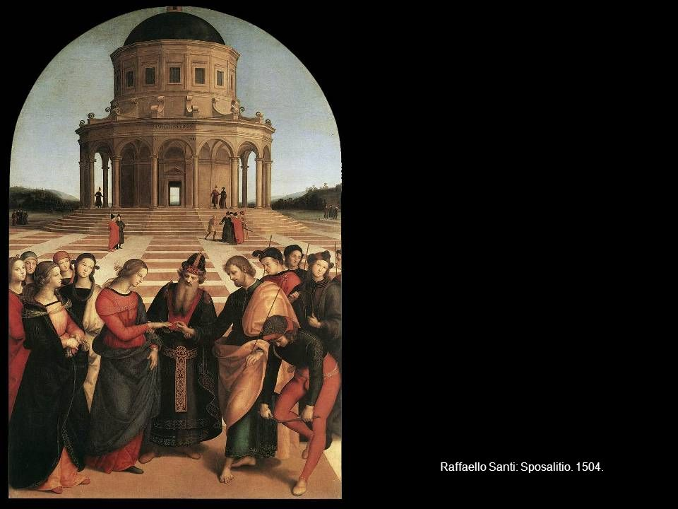 Raffaello Santi: Sposalitio. 1504.