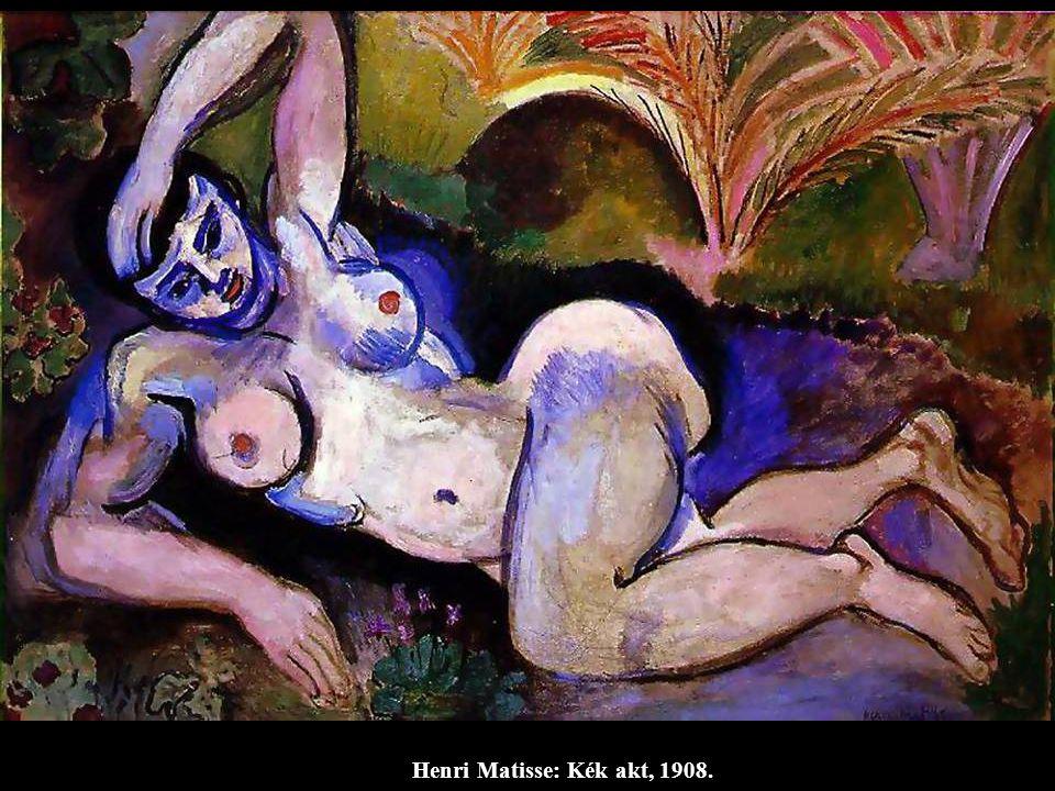 Henri Matisse: Kék akt, 1908.