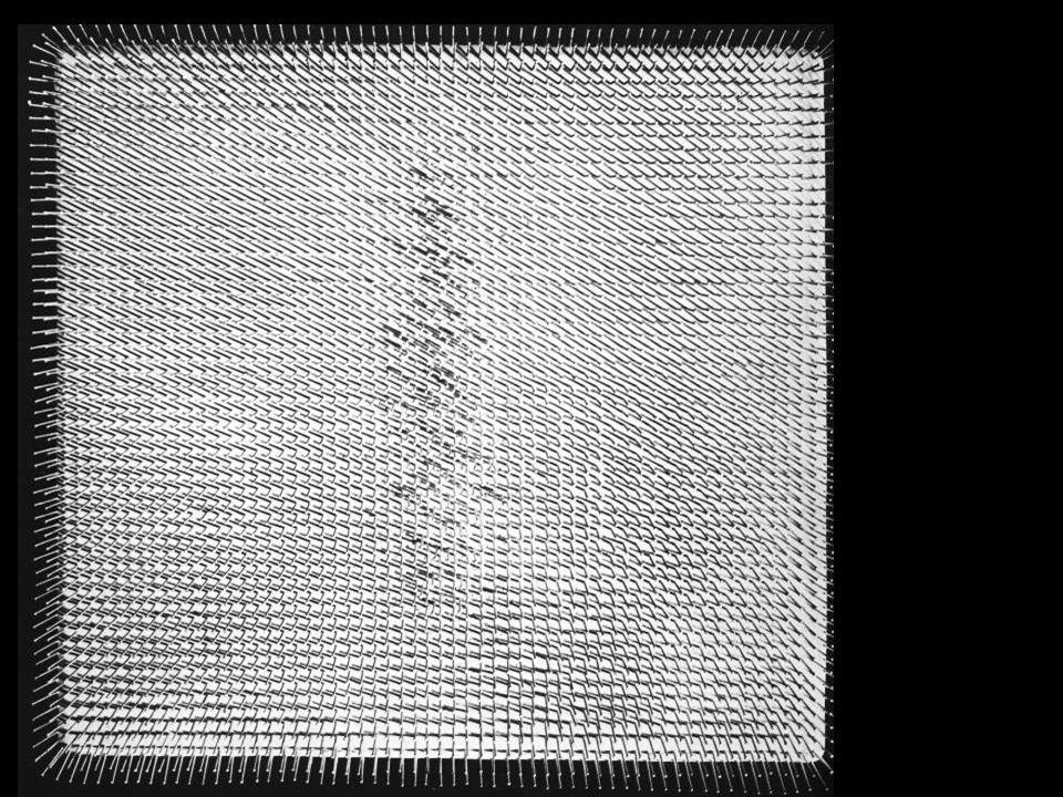 Günther Uecker: Fehér kép, 1959.