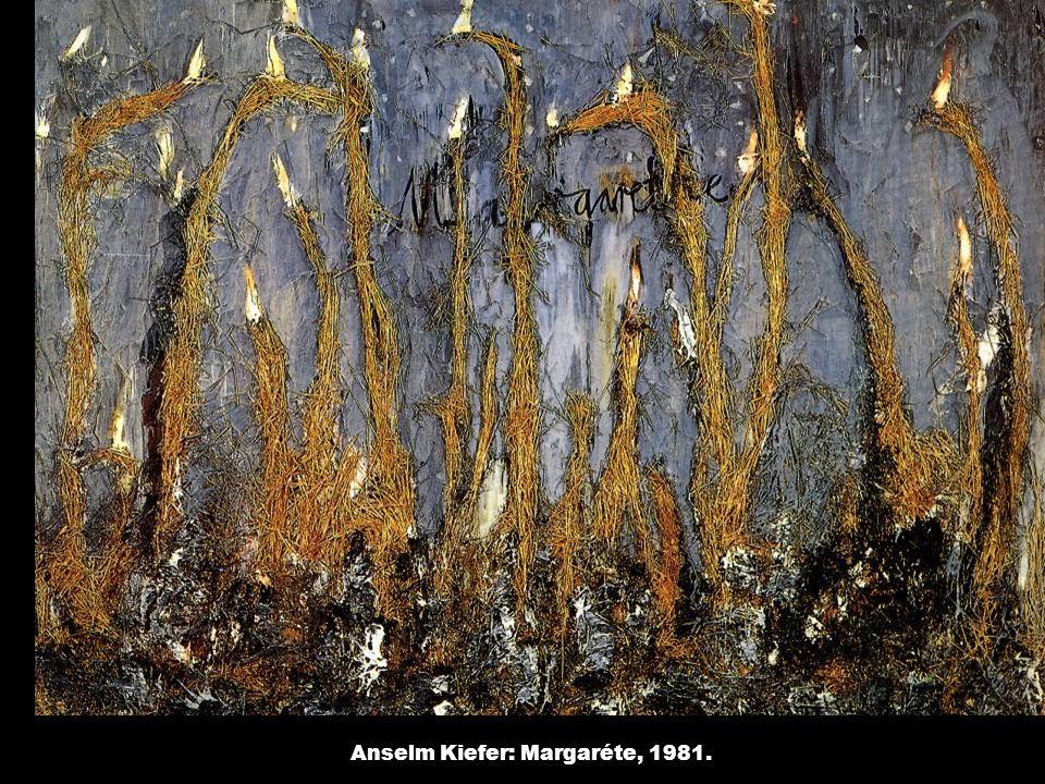 Anselm Kiefer: Margaréte, 1981.