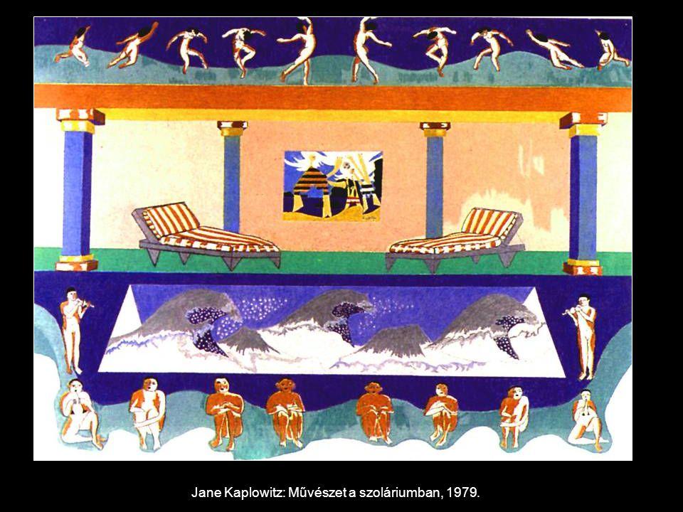 Jane Kaplowitz: Művészet a szoláriumban, 1979.