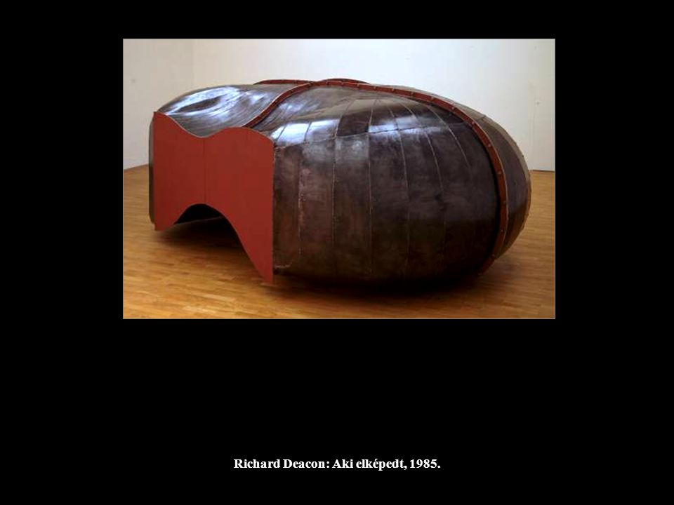 Richard Deacon: Aki elképedt, 1985.