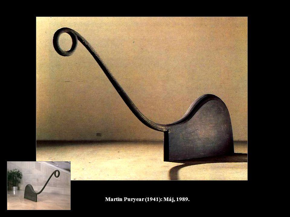 Martin Puryear (1941): Máj, 1989.