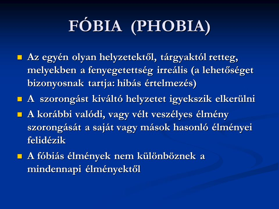 FÓBIA (PHOBIA)