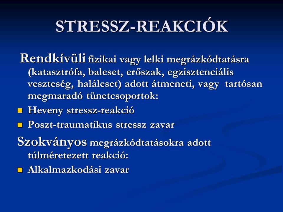 STRESSZ-REAKCIÓK