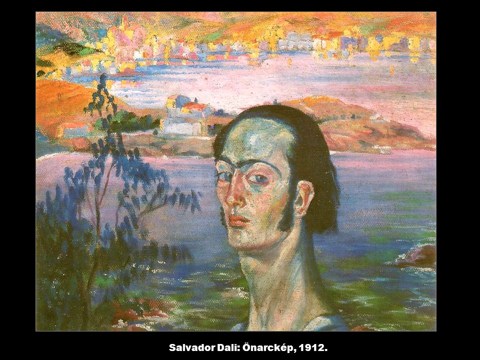 Salvador Dali: Önarckép, 1912.