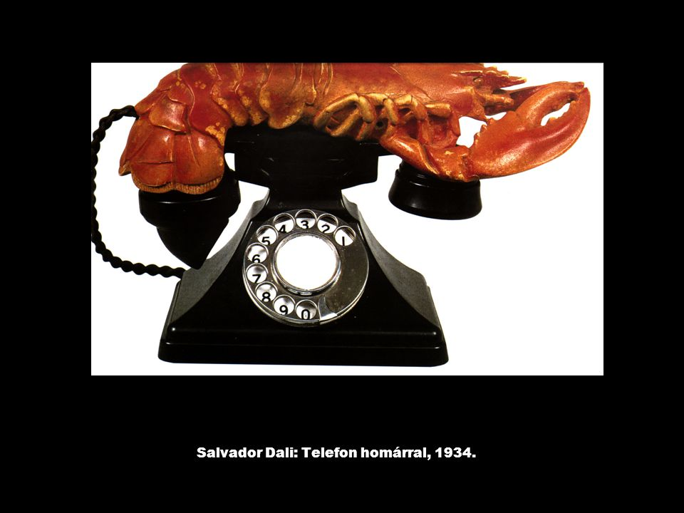 Salvador Dali: Telefon homárral, 1934.
