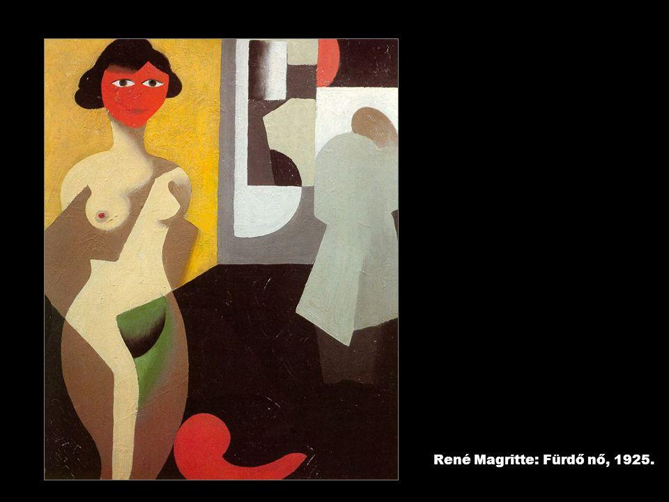 René Magritte: Fürdő nő, 1925.