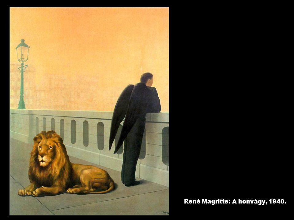 René Magritte: A honvágy, 1940.