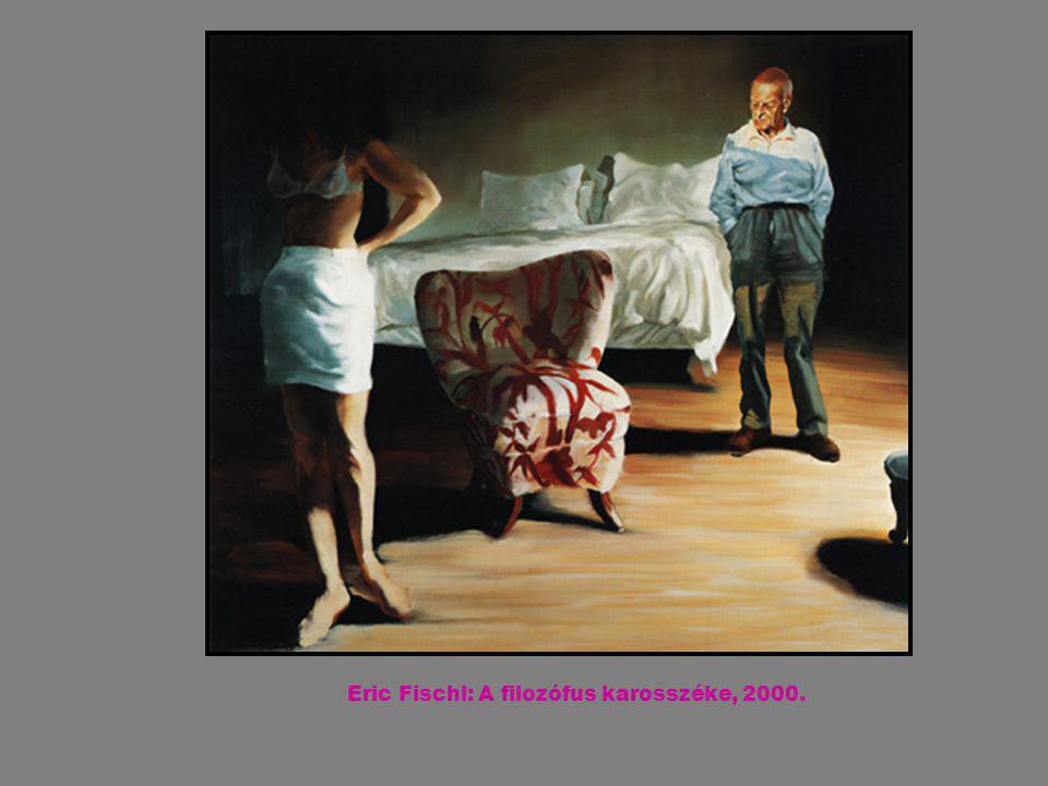 Eric Fischl: A filozófus karosszéke, 2000.