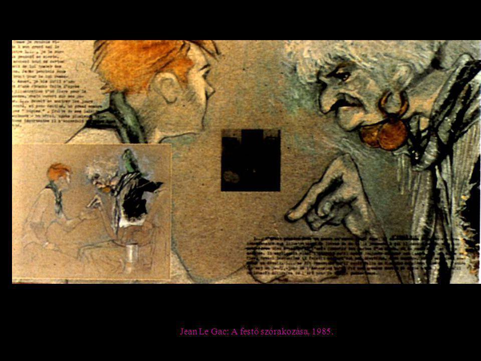 Jean Le Gac: A festő szórakozása, 1985.